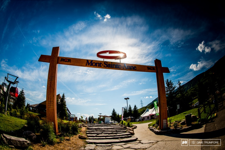 World events: Даунхилл в Mont-Sainte-Anne
