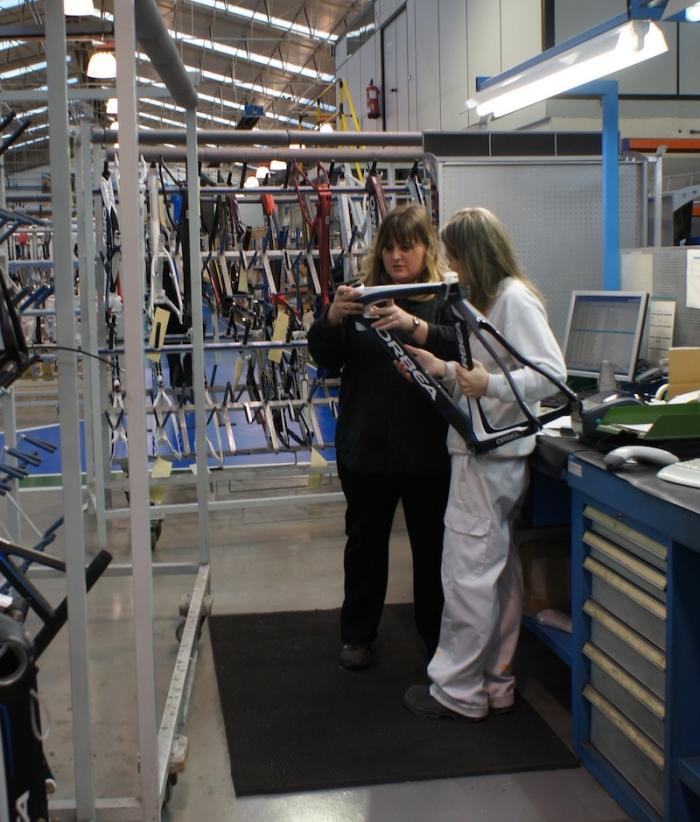 Велоиндустрия: Визит на фабрику Orbea