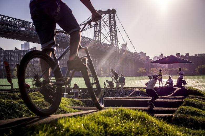 Места катания: Velosolutions сделали эпичный памп в Нью-Йорке