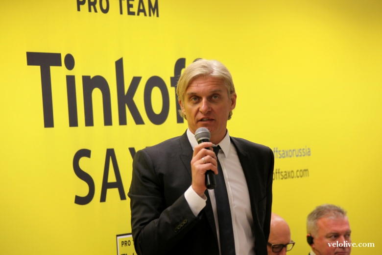 Шоссе/Трек: Тиньков объявил о продаже своей команды