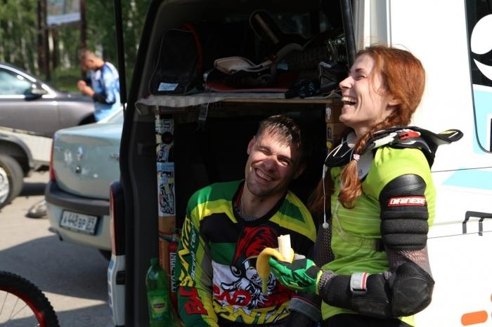 Bad Santa: Чемпионат России 2014 по ДХ - как это было....