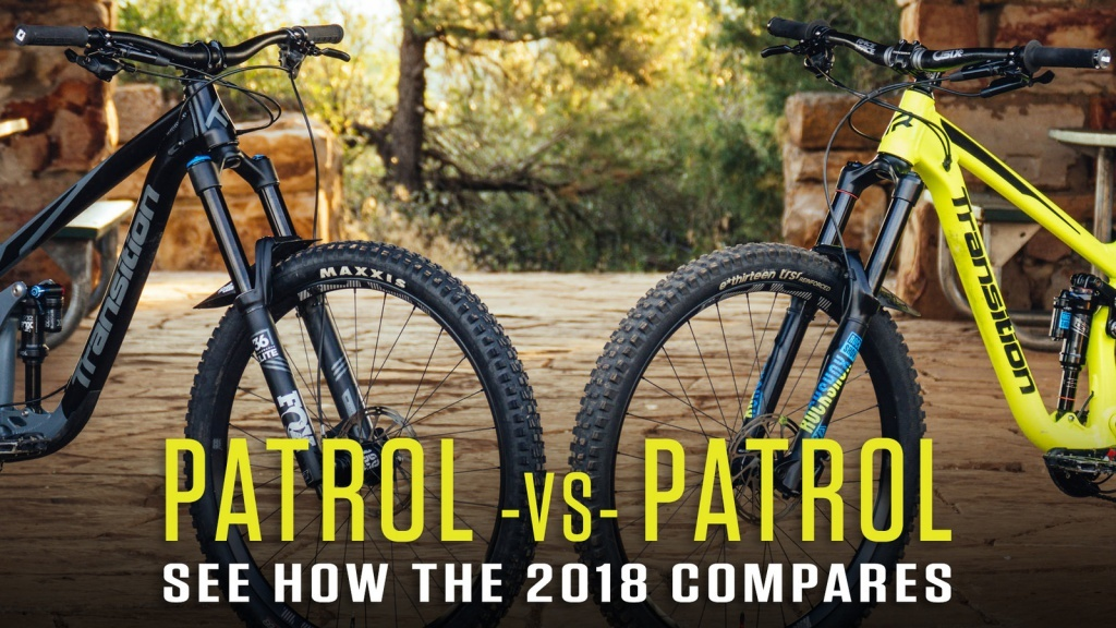 Блог компании ChillenGrillen: Transition Patrol vs. Patrol – чем отличается модель 2018 года от предшественника?