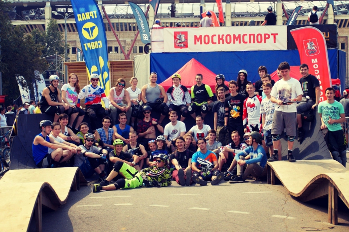 Наши гонки: Moscow BMX Games 2015: Pumptrack. Результаты.