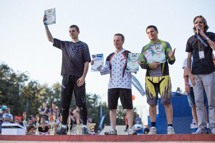 Наши гонки: Moscow BMX Games 2015: Pumptrack. Результаты.