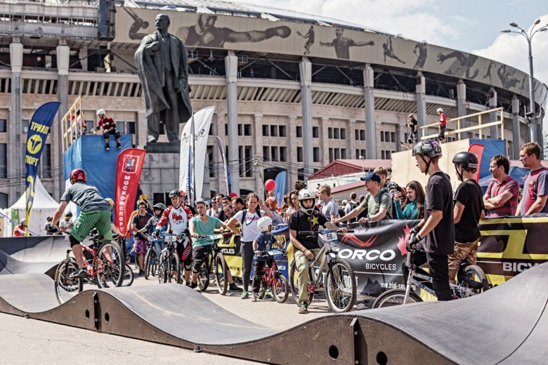 Наши гонки: Moscow City Games 2016: Pumptrack. Итоги.