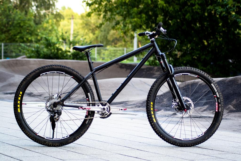 Сборка байка: Experimental bikes пробует в маунтинбайк.