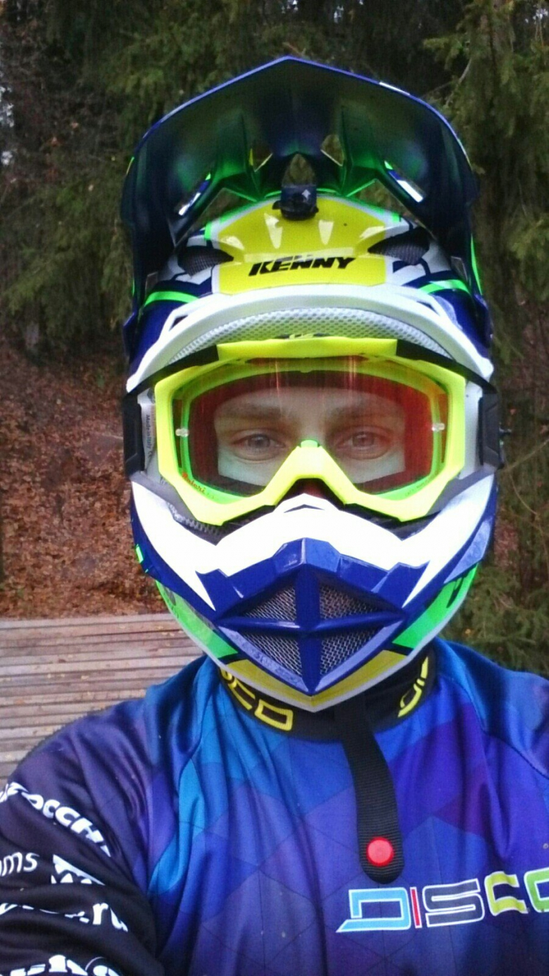 DISCO: Жёсткий тест шлема KENNY SCRUB