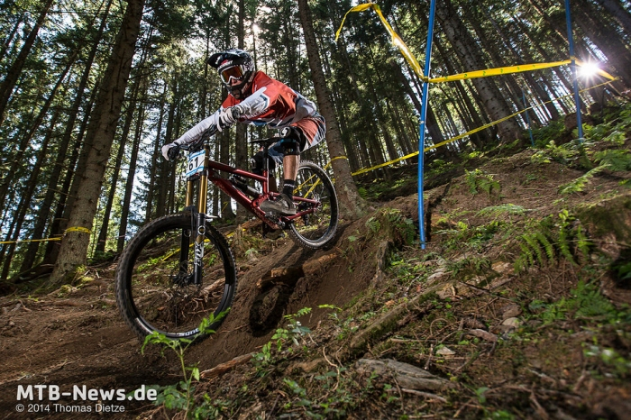 Zhirnova: IXS European Downhill Cup Шладминг