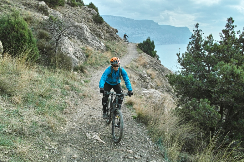 Места катания: Biketest на Арене