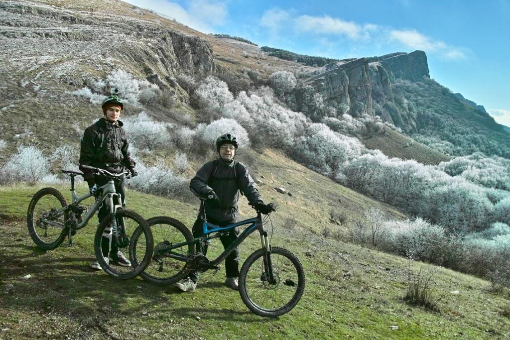 Места катания: Biketest - зима и осень 2017
