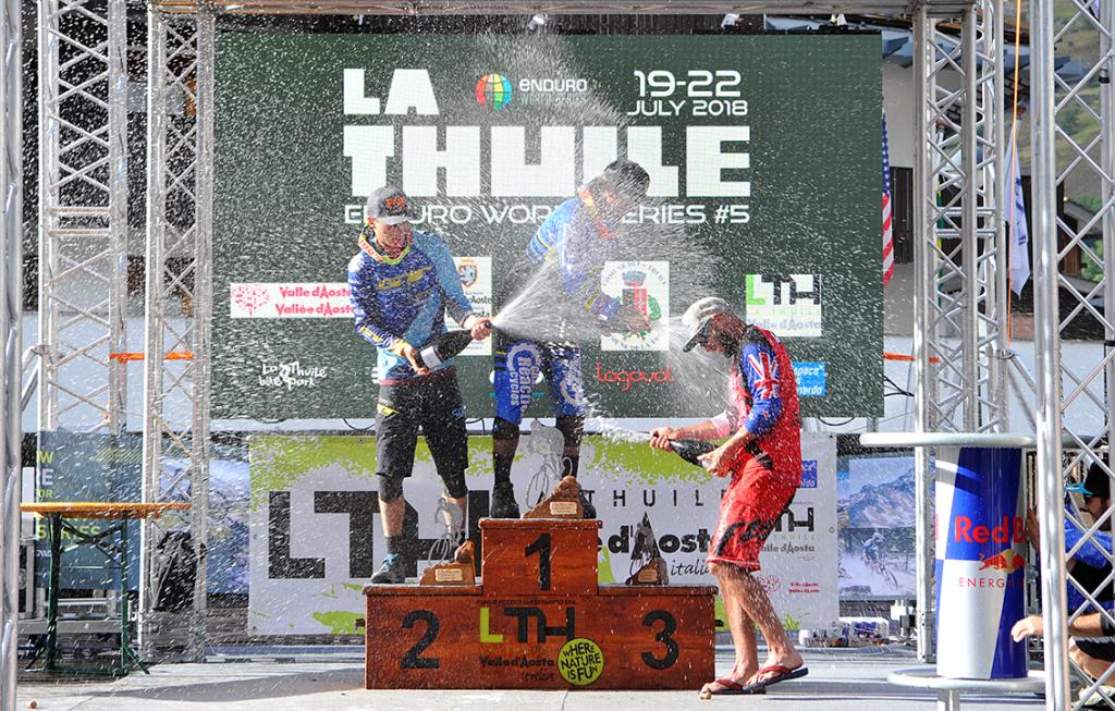 World events: EWS 2018 La Thuile – гонка, второй день