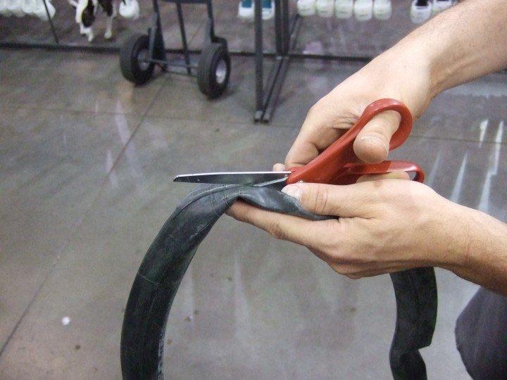 Как на велосипеде сделать безкамерку