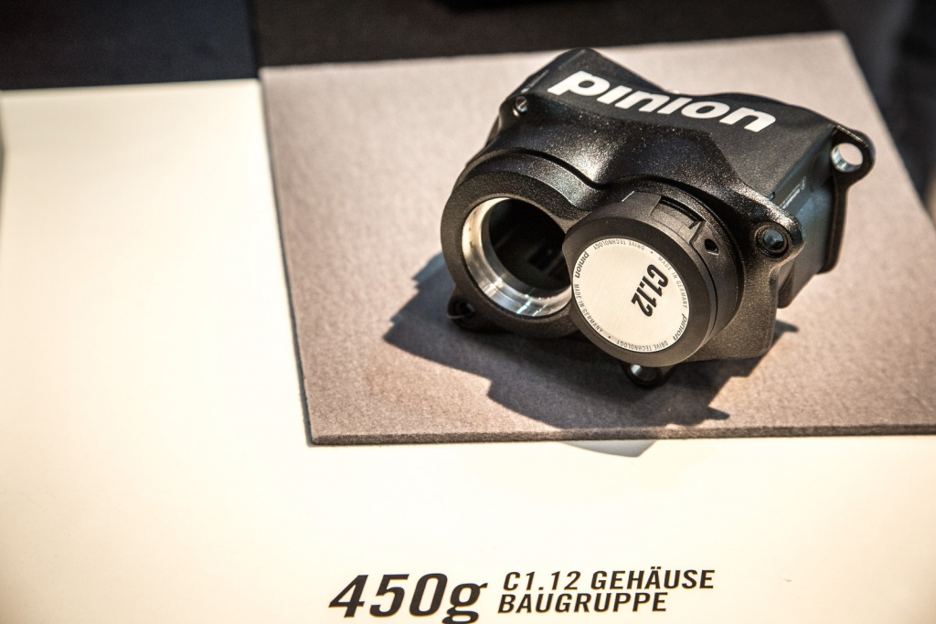 Новое железо: Eurobike 2017: Pinion представили новую 12-скоростную коробку С1.12