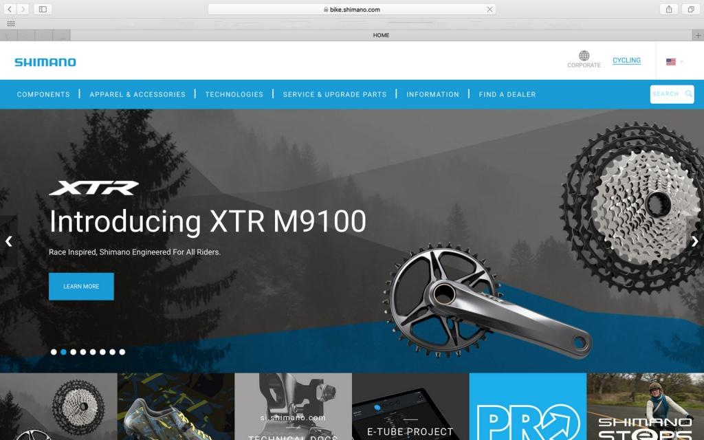 Новое железо: Обновлённая линейка Shimano XTR