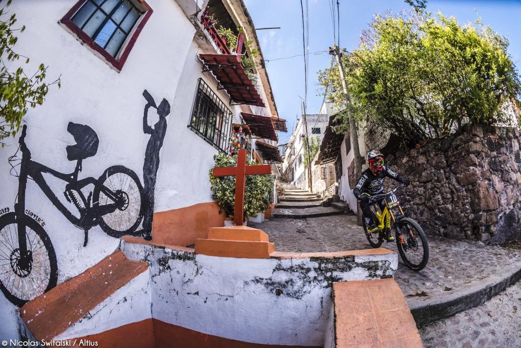 World events: Фотоотчёт из Taxco Urban DH 2018
