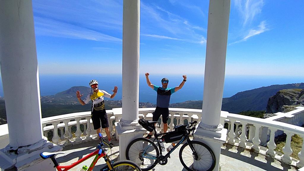 Блог компании Триал-Спорт: GT: Крымские Хроники. Пять перевалов за один длинный день