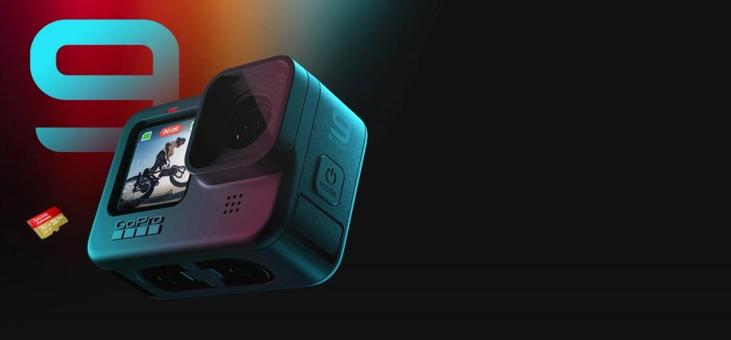 Новое железо: Случилось. GoPro презентовали Hero 9 с 5К видео и двумя дисплеями.