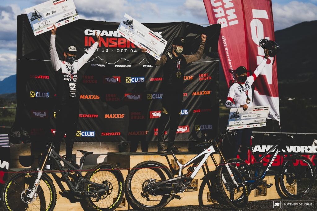 World events: Результаты Crankworx Downhill в Innsbruck