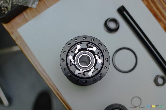 DISCO: Переборка задней втулки Atomlab!