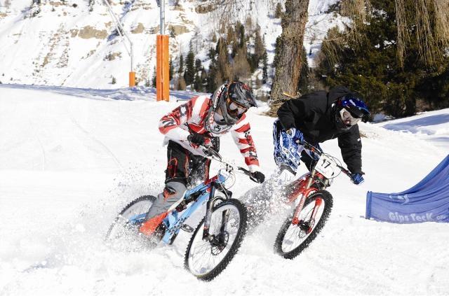 Наши гонки: 23 февраля - DUAL на горнолыжке в Дзержинском карьере. Будет подъемник!