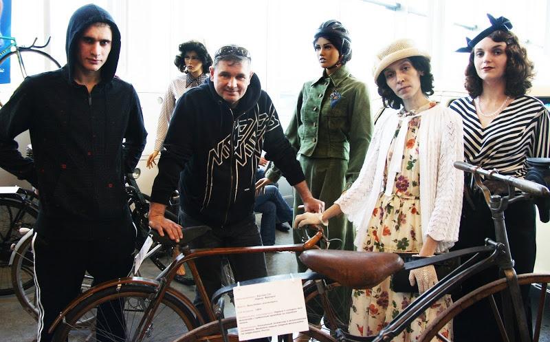 Личный блог: Выставка «Велосипед за 150 лет»
