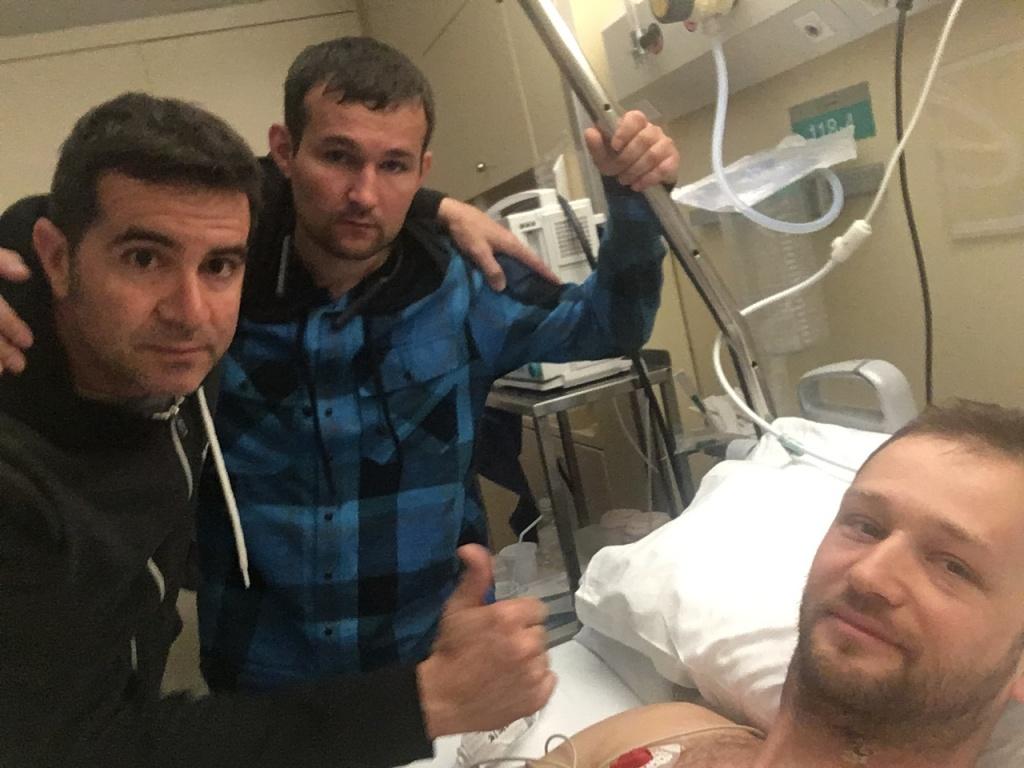 Личный блог: Александр Маркин сломал позвоночник, собираем деньги на лечение