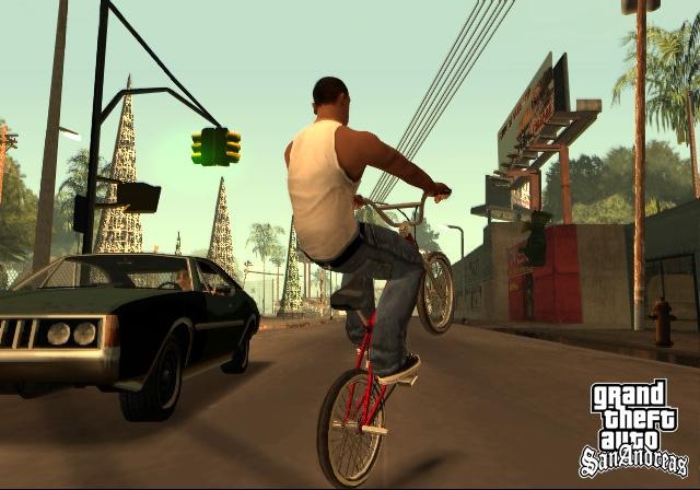 Пятничное: GTA San Andreas. Разбойное нападение!