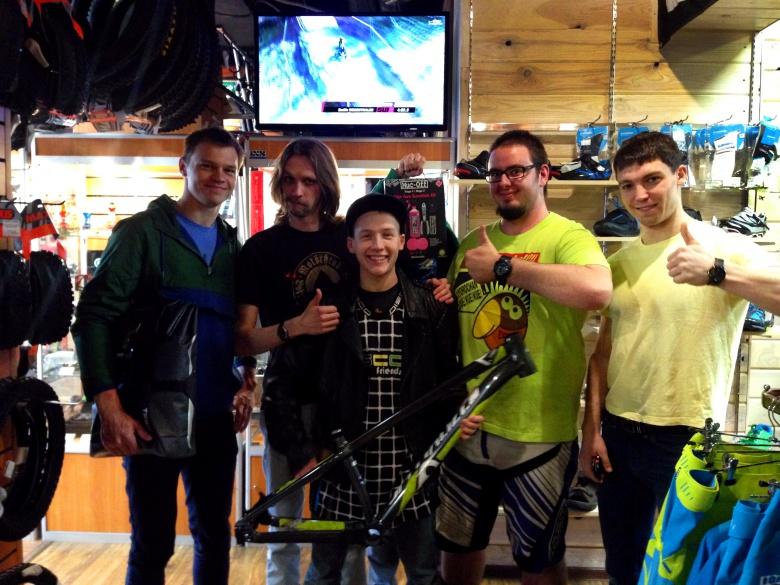 Веловидеоконкурс Ride'N'Show: Награждение победителей конкурса Ride'n'Show