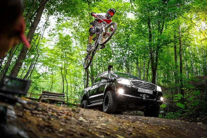 Личный блог: пикап vs горный велосипед