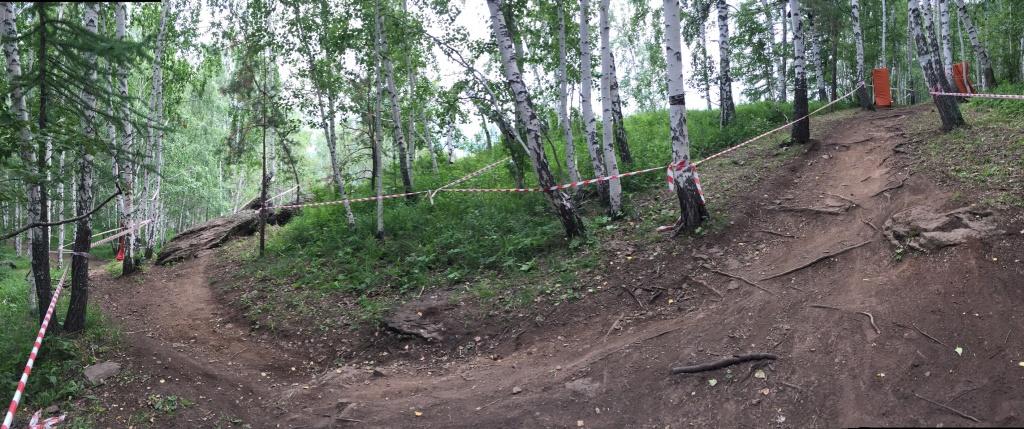 DISCO: Трасса Чемпионата России по даунхиллу