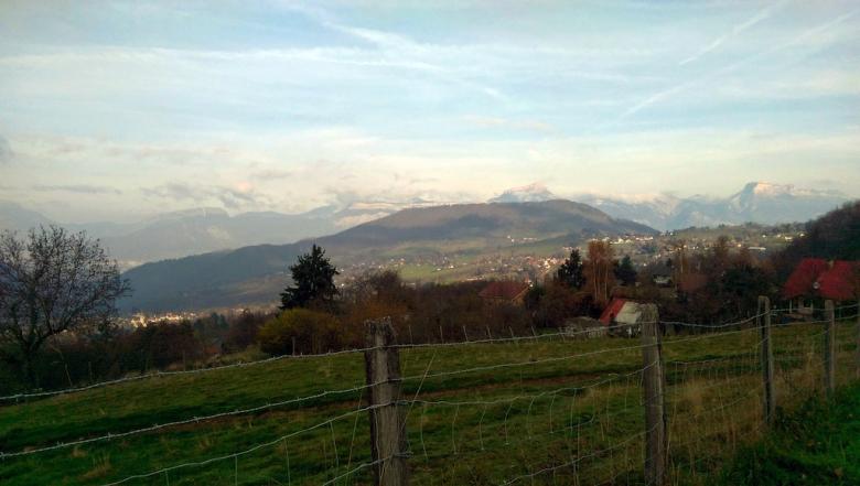 Логово панды: От рассвета до заката - путешествуем по горам Франции