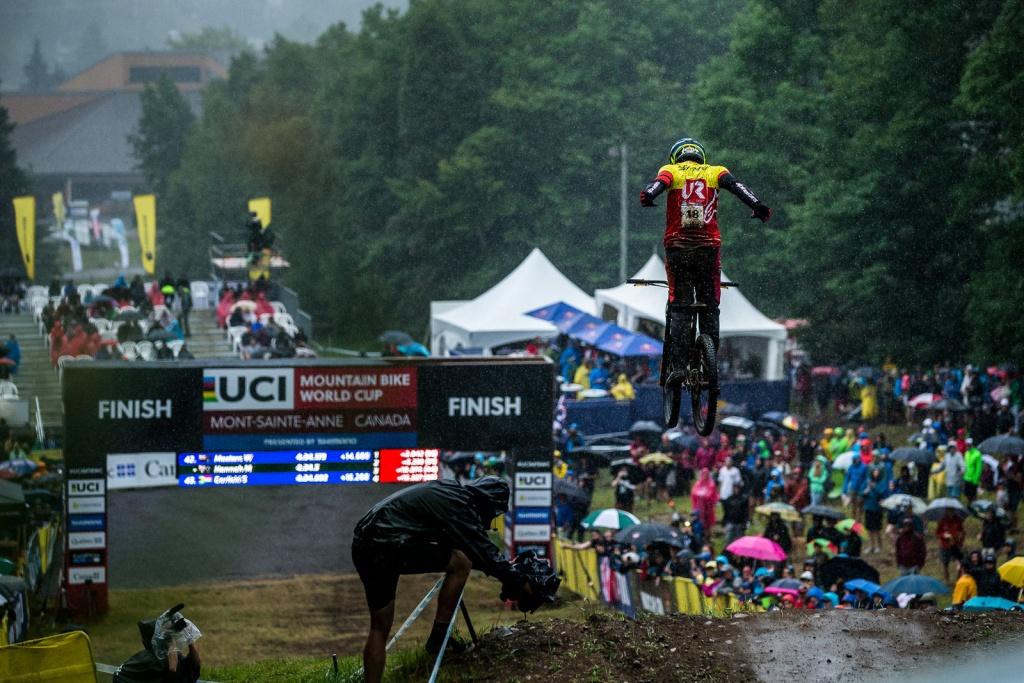 World events: Эпическая гонка Mont Sainte Anne в картинках