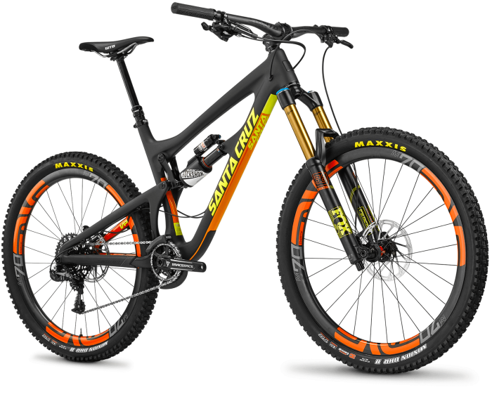 Блог компании Велоимперия: Santa Cruz Nomad обновил цвета
