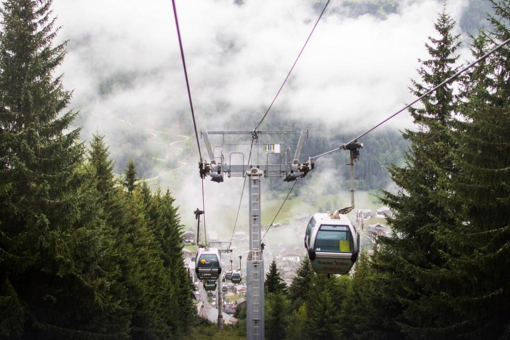 Личный блог: Морзин: интересные места, спуск с горы на беговеле.