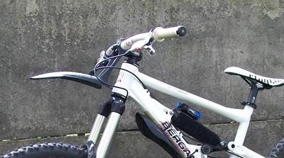 378Крылья на велосипед из папки