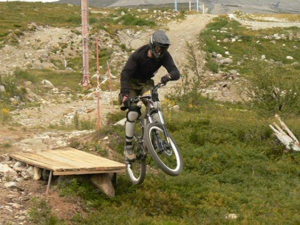 Наши гонки: Олскульный ДХ в Хибинах. 2006 год.