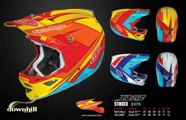 Troy Lee D3 Stinger Composite