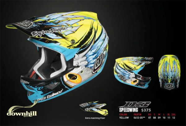 Troy Lee D3 Speedwing Composite
