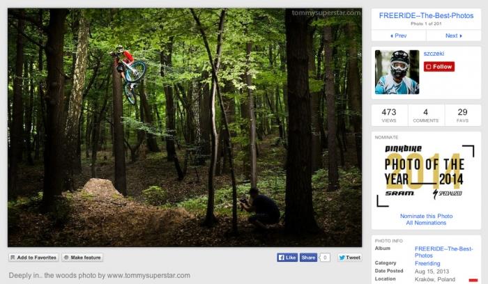 World events: Pinkbike анонсировал новый конкурс фото года