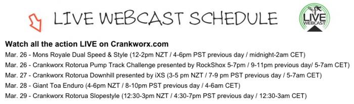World events: Crankworx и маленькая сенсация