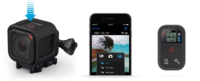 Экипировка: Анонсирована камера Gopro Hero4 Session - видео и характеристики