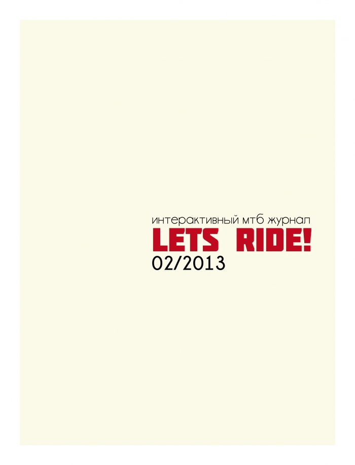 """Let´s Ride!"" issue 2/2013"