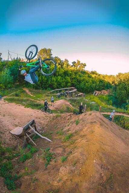 nsmb_ru: Летний Дирт лагерь Че стайл - год 2016. Biking skills or hospital bills