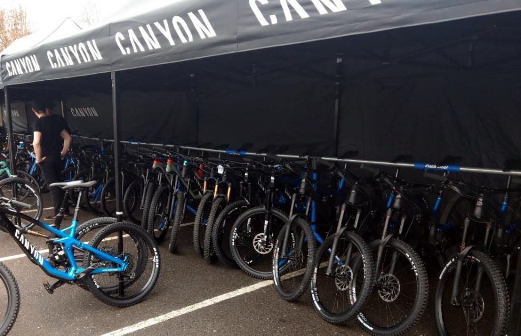 CANYON Bikes: Best In Test - первый тестовый эвент CANYON в России на РЭС#1
