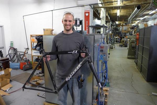 Блог им. raskladnoy: Мастеровые карбоновые рамы под заказ? Как это делает Matt Appleman.
