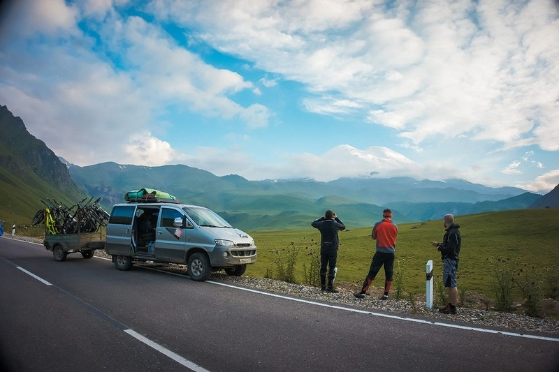FREERIDA.RU - мтб туры на Юге России: 1-9 ИЮЛЯ новый велотур Великолепное Приэльбрусье