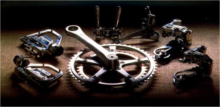 Велоиндустрия: История: Shimano Deore XT 1982