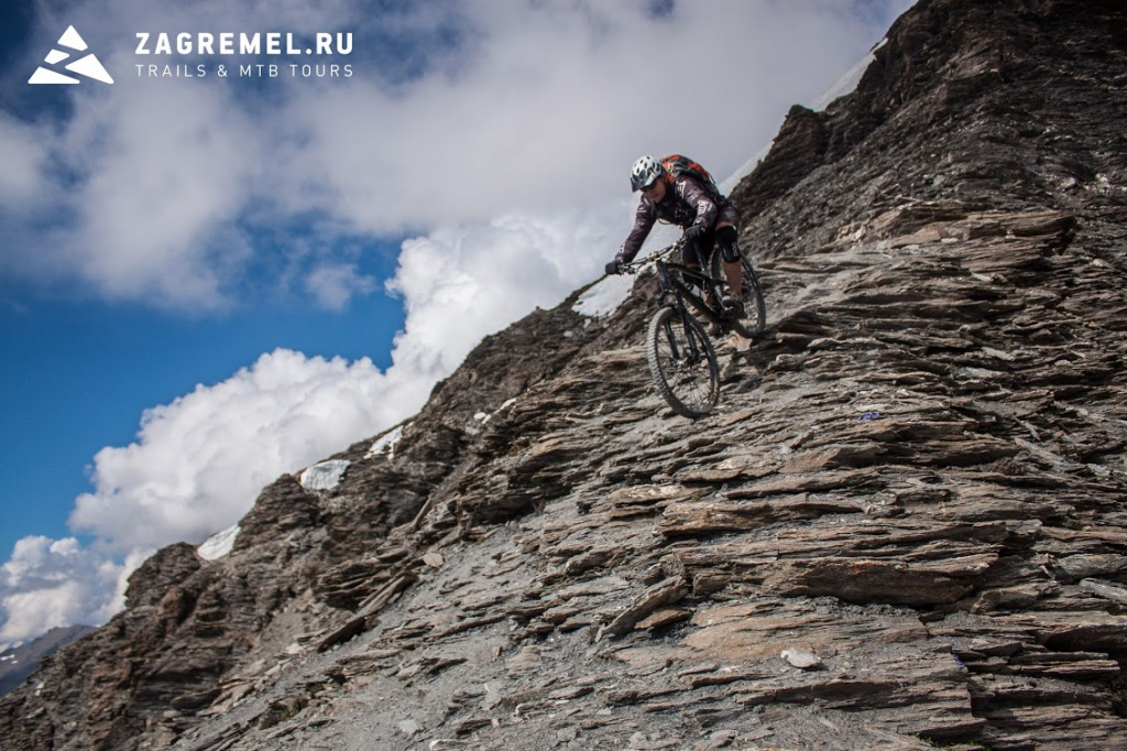 MTB туры zagremel.ru: Гранд Сасьер, 3747 м, главное приключение этого лета