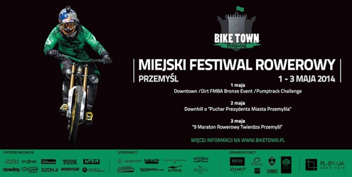 World events: Bike Town Festival Przemysl 2014 (Польша)