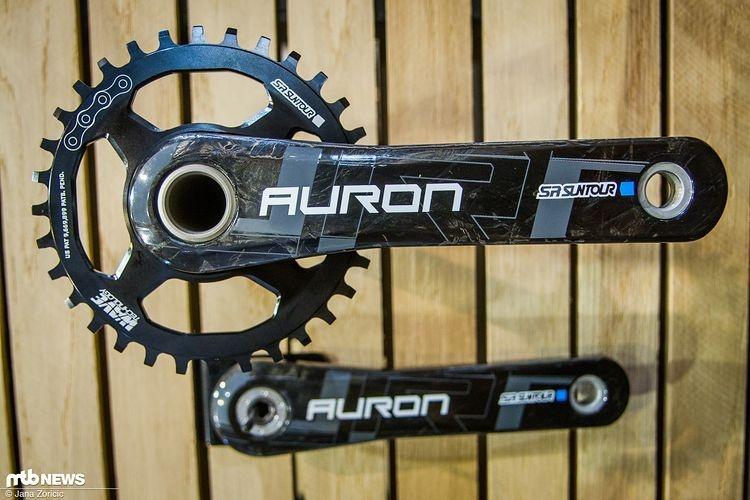 Новое железо: Eurobike 2017: ещё карбона от Suntour и новый аморт.